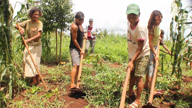 Imagen ilustrativa, extraída del fotograma del documental Guaraní Kokue