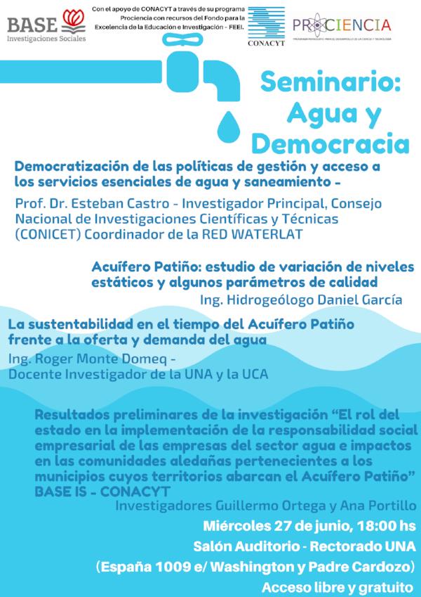 2018.06.27 Agua y Democracia 2